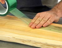 Sealing the Underside of Timber Using Resin Release Tape Thumbnail